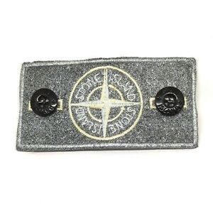 Silver-Frosted-Bespoke-Customised-Stone-Island-Badge-made-from-original-badge