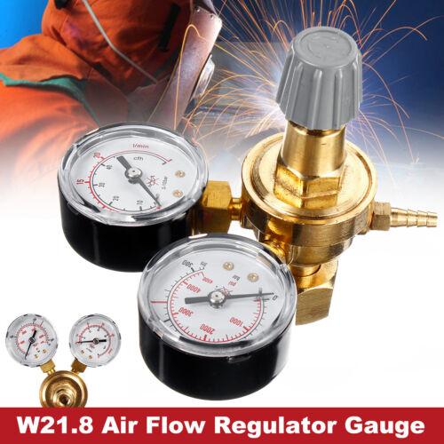 Argon CO2 Regulators Double Gauge Gas Bottle MIG TIG Welding Flow Meter  NEW