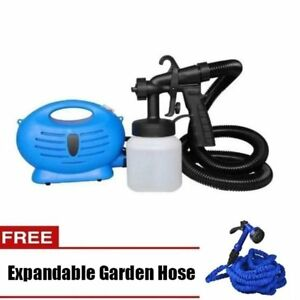 Paint-Zoom-Sprayer-Blue-with-Expandable-Hose-25ft