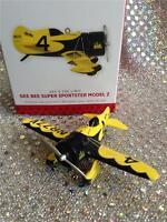 2013 Hallmark Ornament Sky's The Limit Gee Bee Super Sportster Model Z Plane