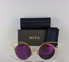 887f1c177fb3 Brand New Authentic Dita Sunglasses Believer 23008-A-GLD-52mm Gold Frame