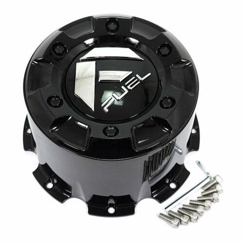 Fuel Gloss Black Wheel Center Hub Cap 8Lug D536 D581 D574 D538 D436