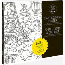 Omy Design And Play Giant Colouring Roll Paris Large For