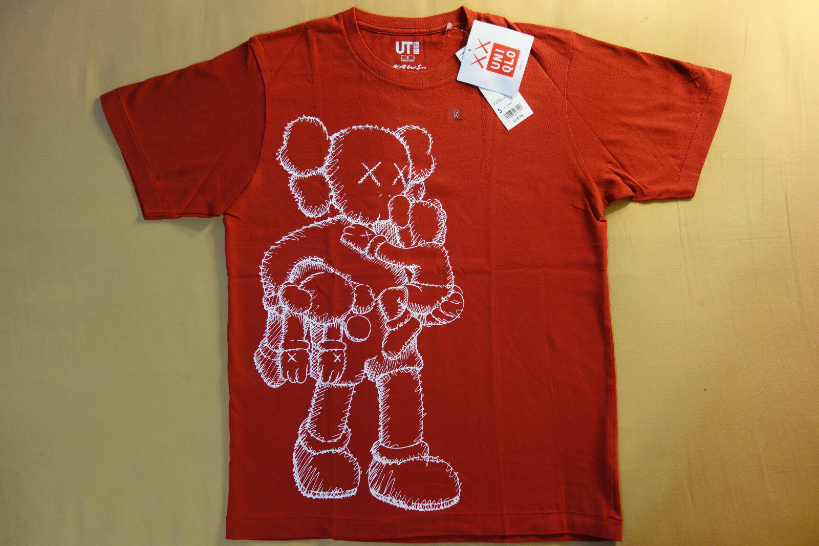Kaws x Uniqlo UT 2016 Short Sleeve Graphic T-Shirt