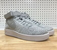 detailed look b6d7c c354e item 4 Nike Air Force 1 Ultra Flyknit Mid Mens 11 Grey White 817420-003  New Shoes -Nike Air Force 1 Ultra Flyknit Mid Mens 11 Grey White  817420-003 New ...