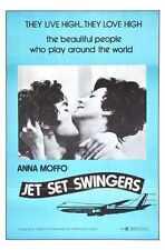 Jet Set Swingers Poster 01 Metal Sign A4 12x8 Aluminium