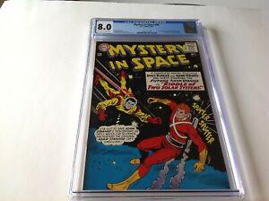 MYSTERY-IN-SPACE-94-CGC-8-0-SPACE-RANGER-ADAM-STRANGE-LEE-ELIAS-DC-COMIC