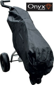 ONYX-NYLON-GOLF-BAG-RAIN-COVER-or-DUST-COVER-WITH-POCKETS-AND-ZIPS-BRAND-NEW