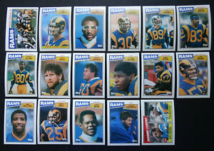 1987-Topps-Los-Angeles-Rams-Team-Set-of-17-Football-Cards