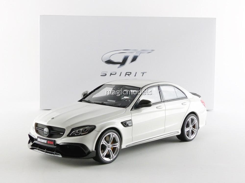 GT Spirit 2016 Mercedes Benz Brabus 650 Sedan White LE of 504 1 18 Scale New