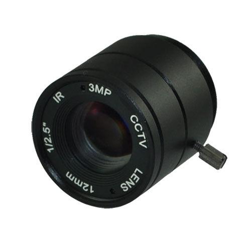 "3MP HD 4//6//8//12//16//25MM 1//2.5/"" F1.4 CS Fixed Metal IR Board Lens For CCTV Camera"