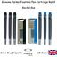 Geniune Parker Quink Ink Fountain Pen Cartridges Black or Blue Refills
