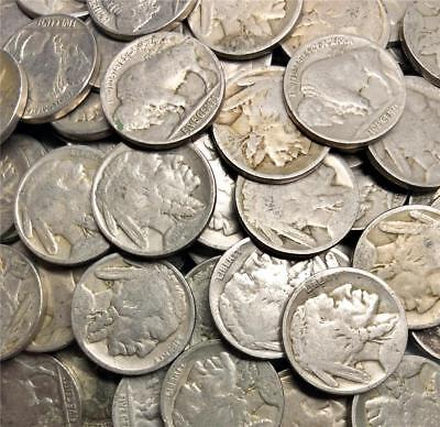 1 roll of NO DATE BUFFALO NICKEL ROLL OF 40 COINS DATELESS