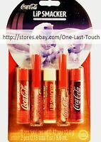 Lip Smacker 5pc Lip Gloss/balm Coca-cola Refreshing Collection Classic Soda Set