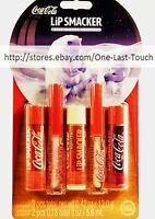Lip Smacker 5pc Lip Gloss/balm Coca-cola Refreshing Collection Classic Soda Set