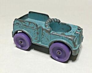 Vintage 1967 Tootsietoy Blue Diecast Metal Truck