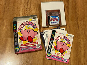 Koro-Koro-Kirby-Tilt-039-n-039-Tumble-Complete-in-Box-Japan-Nintendo-GameBoy-Color-GBC