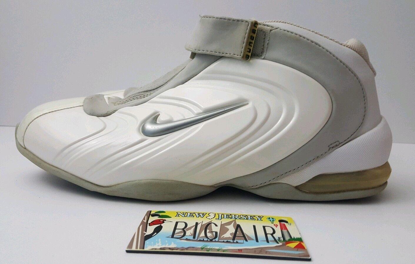 b17c7bcc2520e 2002 Nike Air Max Duncan Duncan Duncan 2 White Grey size 12 (302909-101) Tim  Foamposite 832f24