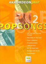 Akkordeon Pur: POPSONGS 2 - Spielbuch mittelschwer NEU! (VHR 1802)