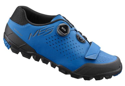 US 11.8 47 Shimano ME5 Trail Enduro MTB Mountain Bike Shoes SH-ME501 Blue