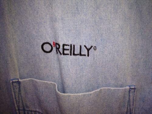manga larga de Camisa azul O'reilly wqYSn5nPCT