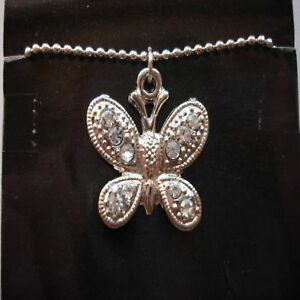 silver-rhinestone-butterfly-pendant-necklace