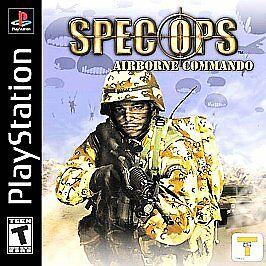 Spec-Ops-Airborne-Commando-Sony-PlayStation-1-2002-PS1-Video-Game-Complete