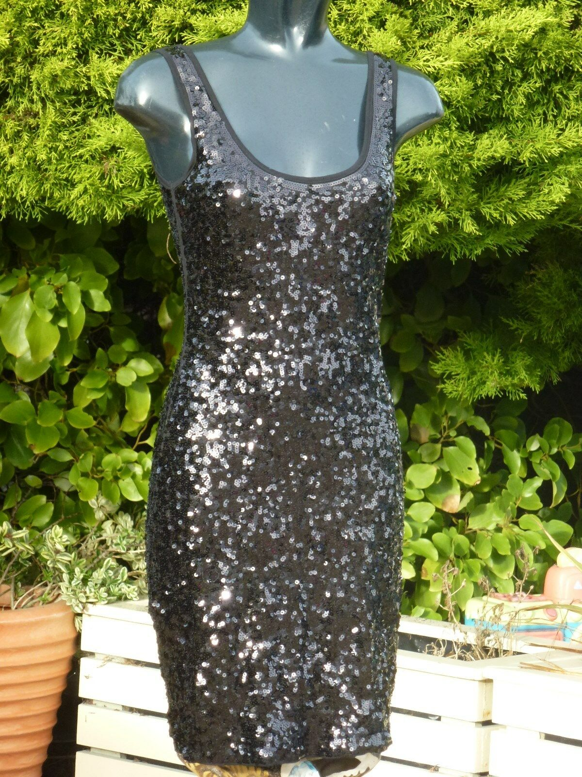 Monsoon Sequin Dress Size 08 PROM Ball Wedding Cruise PROM Party