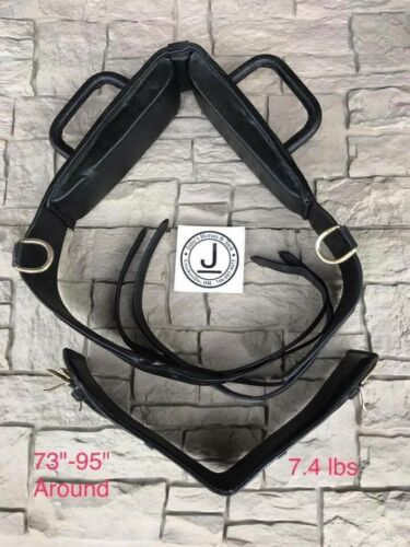 Performers 1st Choice Vaulting Surcingle Horse-Black Leather