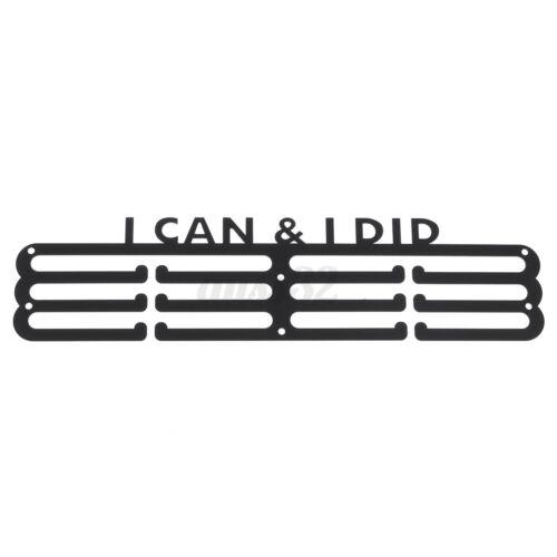 Metal Steel Medal Holder Hanger Display Rack Ideal Swim Run Bike Ball Game  !