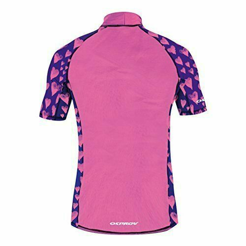 X-Small Ladies Osprey Rash Vest Fuschia UV50
