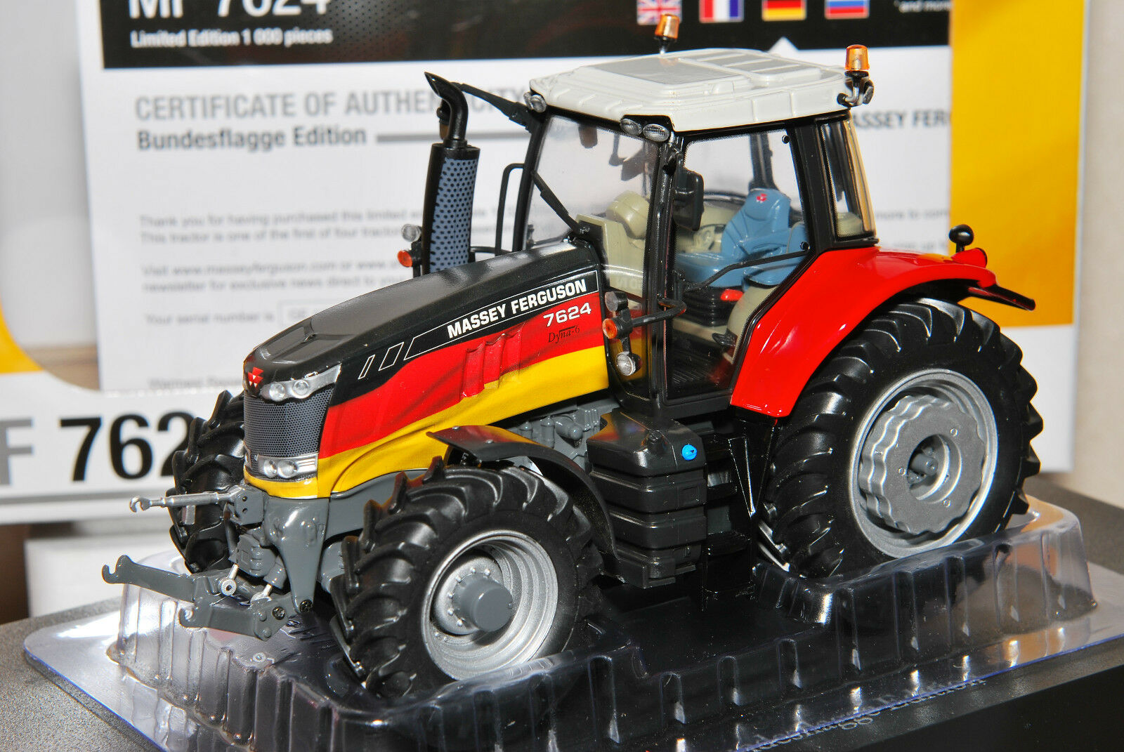 Massey Ferguson MF 7624 Limited Limited Limited Edition Bundesflagge Agritechnica no 2017 1 32 26d207