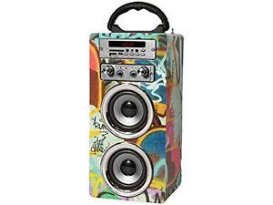 Pure-Acoustics-MCP-20-Portable-Karaoke-Machine-With-Mic-Bluetooth-Speaker-Radio