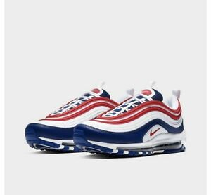 Details about Nike Air Max 97 'USA' [CW5584-100] Red White Blue  Independence Day Mens Size 11