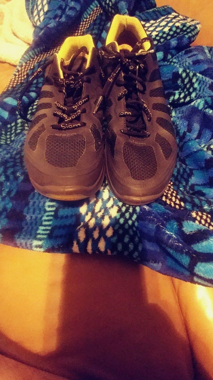 Womens Ecco Biom Performance Running Athletic Shoes 40 EU Black yellow