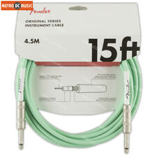 2-Pack FENDER 15 ft Straight Performance Instrument Guitar Cable FG15 Cord NEW
