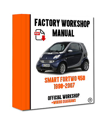 OFFICIAL WORKSHOP Manual Service Repair Smart Fortwo 450 1998 - 2007   eBayeBay