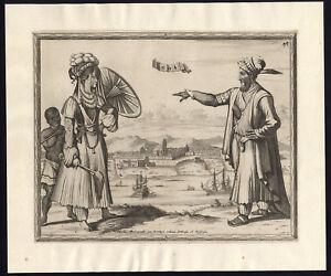 Rare Antique Print-INDIA-GOA-C...