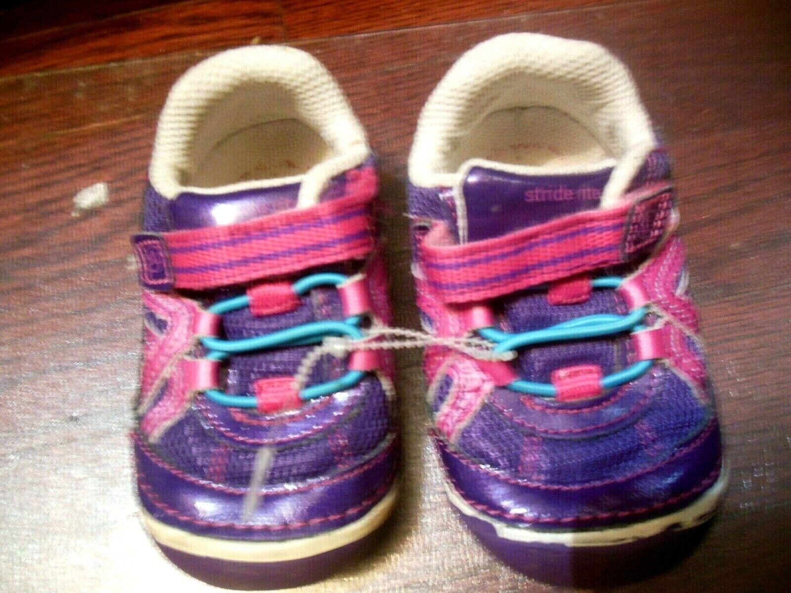 Start Rite FRANGIPANI PURPLE Girls Sparkle Casual Shoes Boots 11-12.5 F Fit BNIB