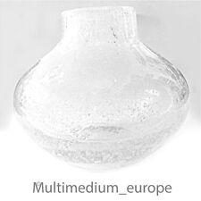 50er 60er Jahre Glas Vase Schaumglas wohl Zwiesel Luftblasen