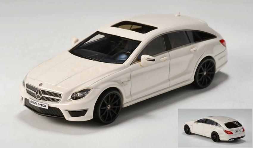 Mercedes Amg Cls63 Shooting Brake S-model 2014 Cream 1 1 1 43 Model GLM MODELS e52fbf