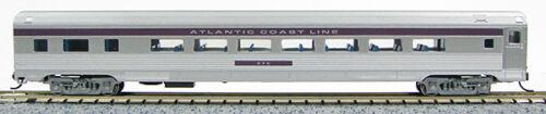1-41407 Silver//Purple N Budd Passenger Parlor Car Atlantic Coast Line