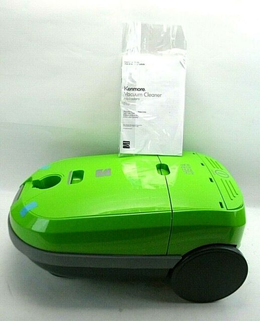Kenmore Canister Vacuum Cleaner, Lime Green 116.29229213 BODY ONLY (F/T)