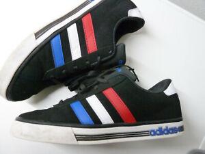 Details zu Adidas NEO Daily Team Gr. 42 US 8,5 25,5 cm Artikel # F76228 black white