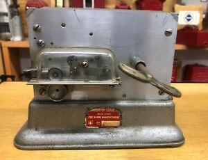 Vintage-Antique-Harrington-Fire-Alarm-Punch-Register-Not-Gamewell