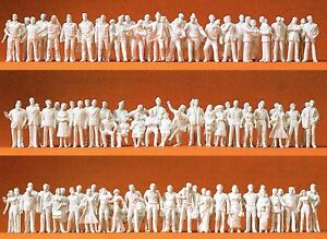 190-unpainted-figures-for-the-Scale-Model-Preiser-74090-Scale-1-100