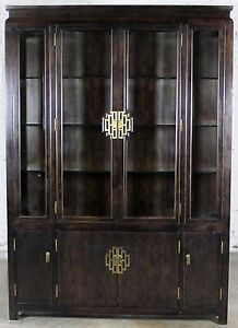 Charmant Image Is Loading Vintage Chin Hua Collection China Display Cabinet Or