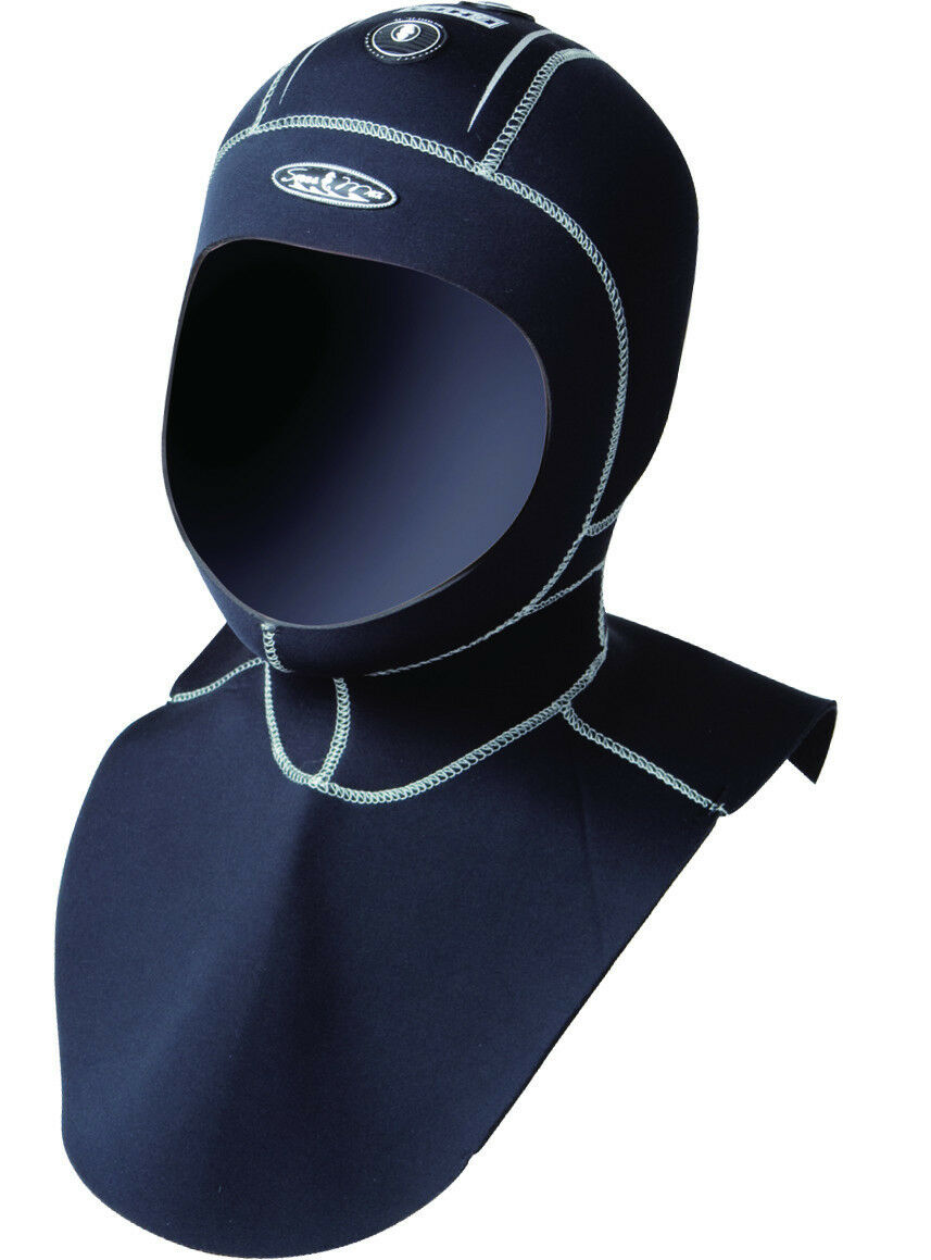 Scuba MaxFlex 5 3mm Vented Diving HOOD Scuba DIving Kayaking HOOD