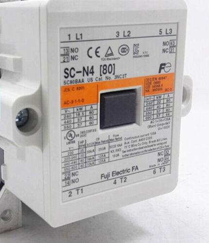 80 1pcs Nouveau Fuji AC Contacteur SC-N4 AC220V NEW IN BOX