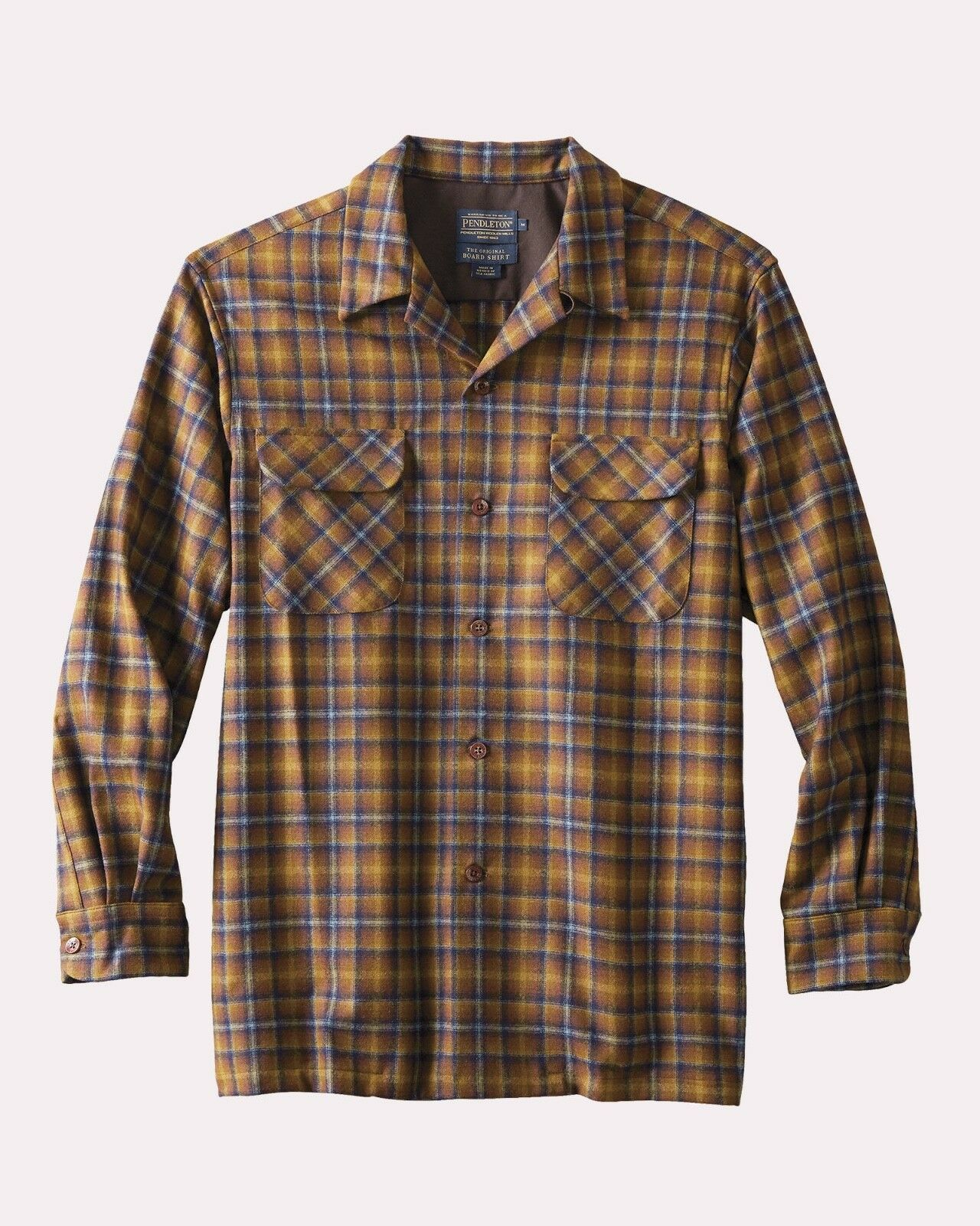 Pendleton Original Board Shirt 100% Umatilla Virgin Wool Classic Fit Multi 32083